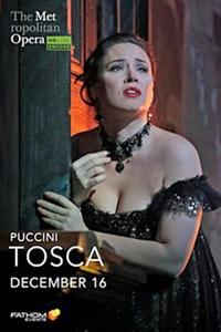 Tosca: 2020 Met Opera Encore poster