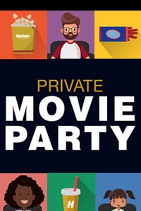 Poster of Private Movie Party