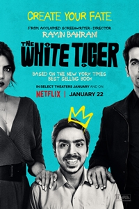 Poster of The White Tiger (Hindi)