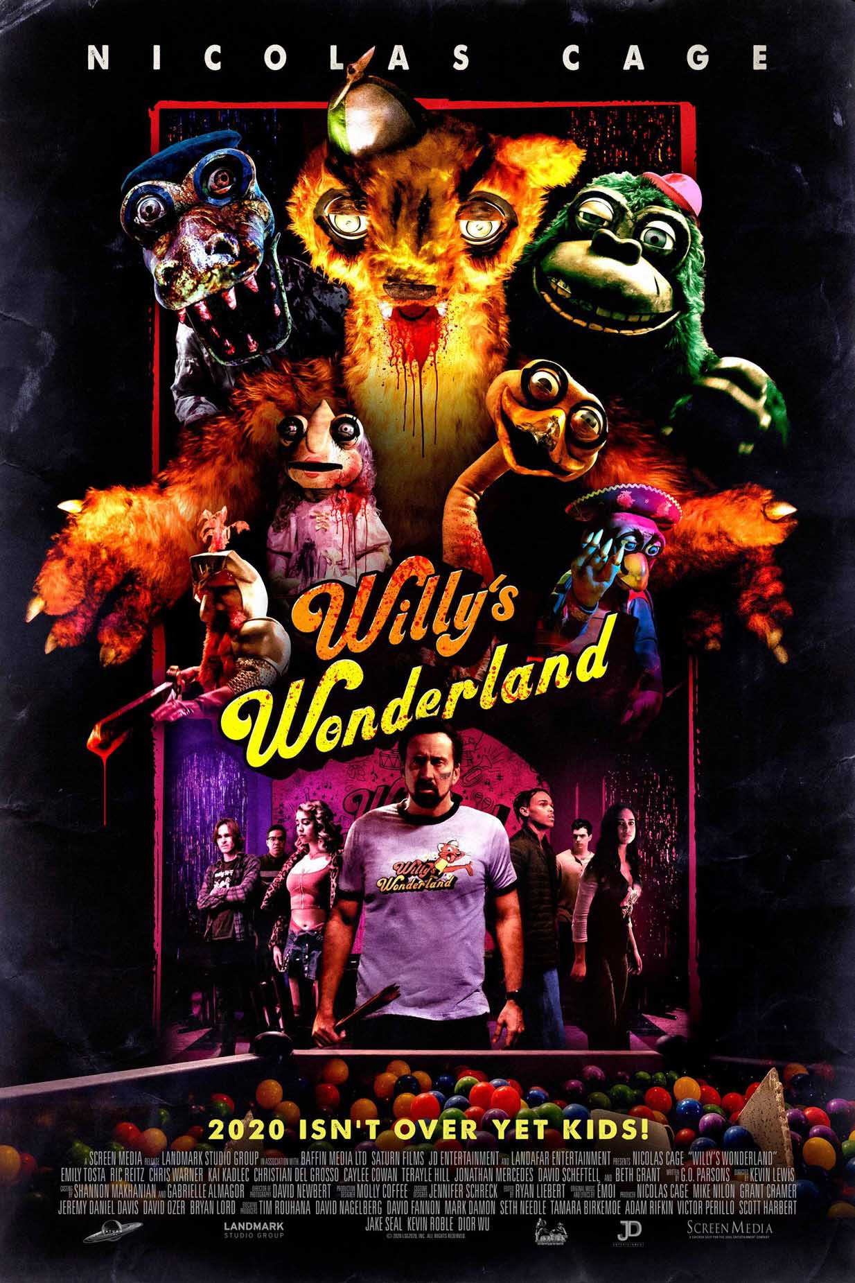 Still of Willy's Wonderland
