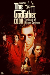 Poster of Mario Puzo's The Godfather, CODA: The Death of Michael Corleone