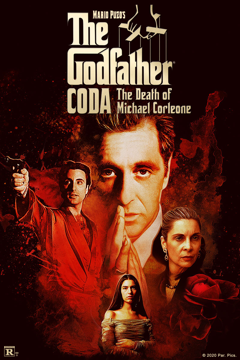 Godfather, Coda: The Death of Michael Corleone, Th Poster