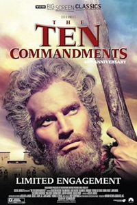 Poster of Ten Commandments 65th Anniversary presented by TCM