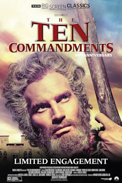 Poster of The Ten Commandments 65th Anniversary presented by TCM