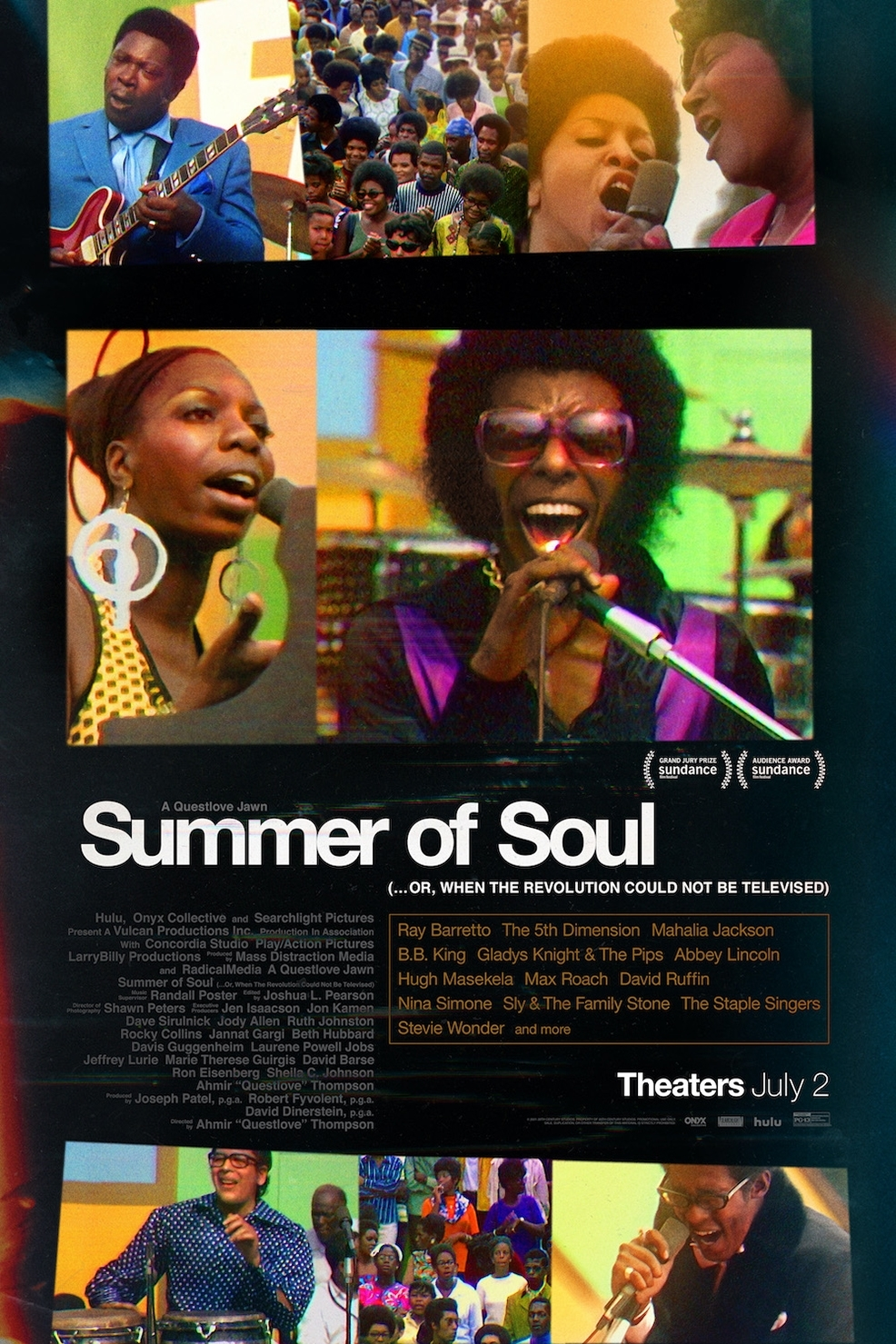 Still of Summer of Soul (...Or, When the Revolution Could N