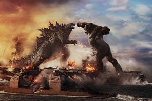Still 1 for Godzilla vs Kong 3D