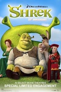 Shrek 20th Anniversary Poster
