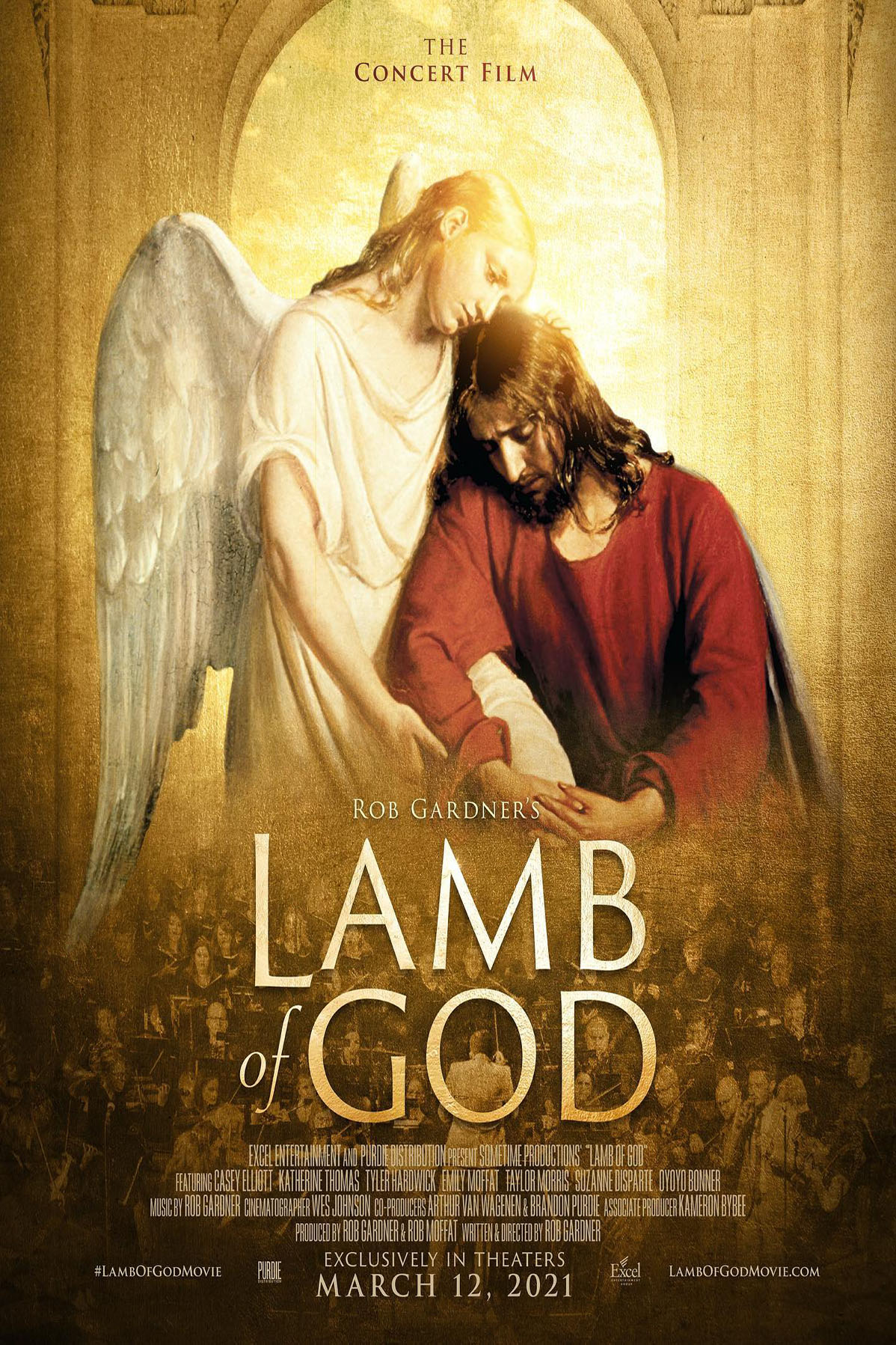 Poster of Lamb of God: The Concert Film