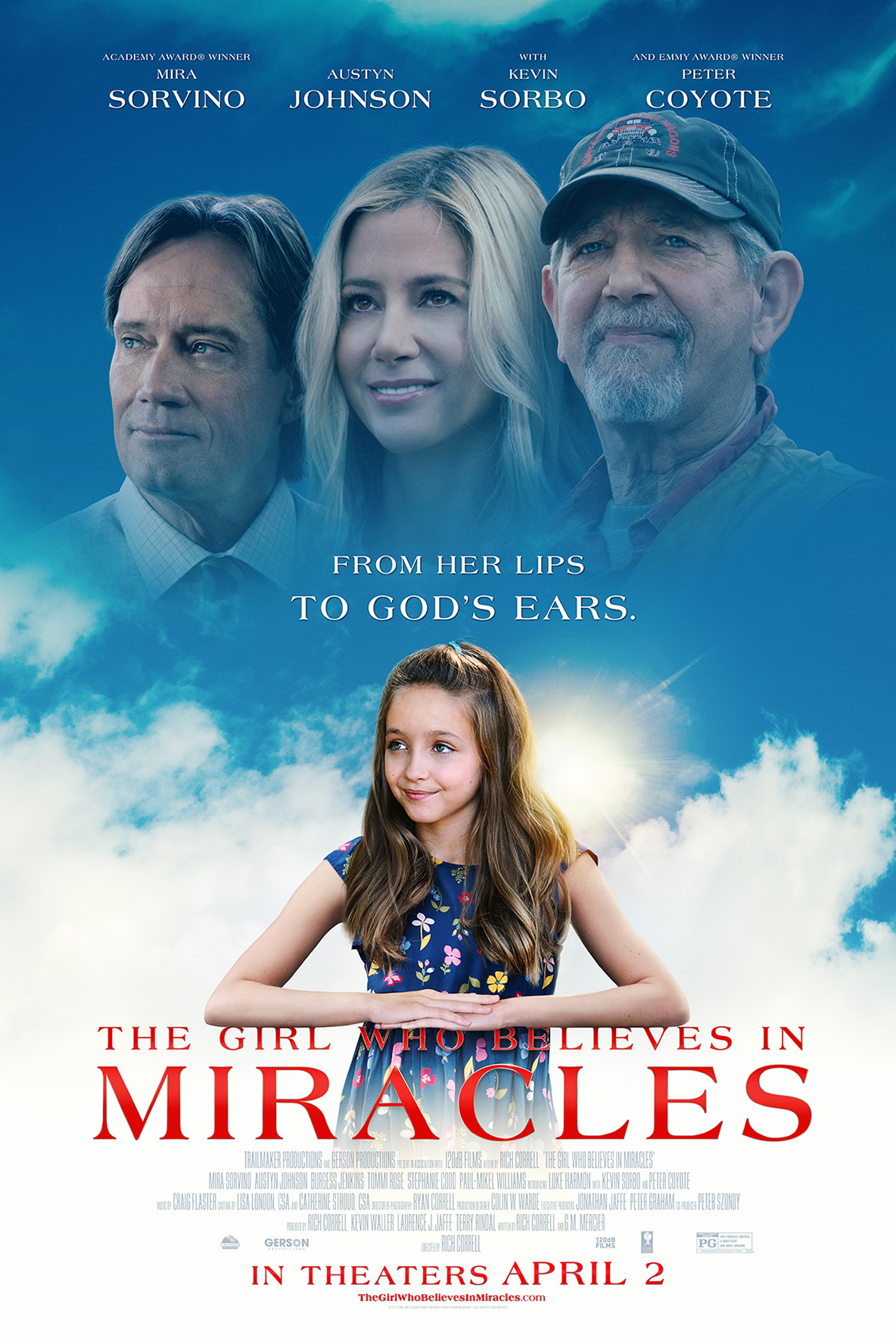 Girl Who Believes In Miracles, The Poster