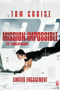 Mission: Impossible 25th Anniversary Poster