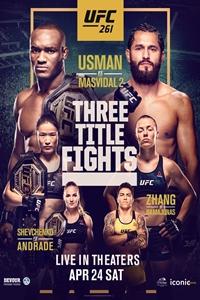 Poster of UFC 261: Usman vs. Masvidal 2