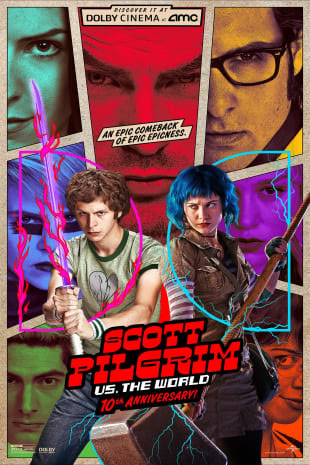 Poster for Scott Pilgrim vs. the World 10th Anniversary