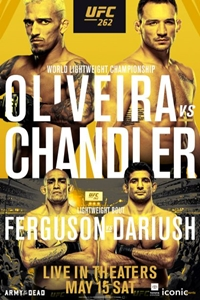 Poster for UFC 262: Oliveira vs. Chandler