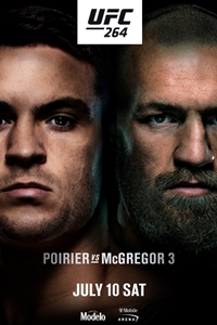 Poster for UFC 264: Poirier vs. McGregor 3