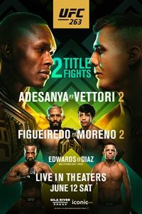 Poster for UFC 263: Adesanya vs. Vettori 2