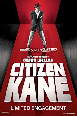 Poster of Citizen Kane 80th Anniversary presented by TCM