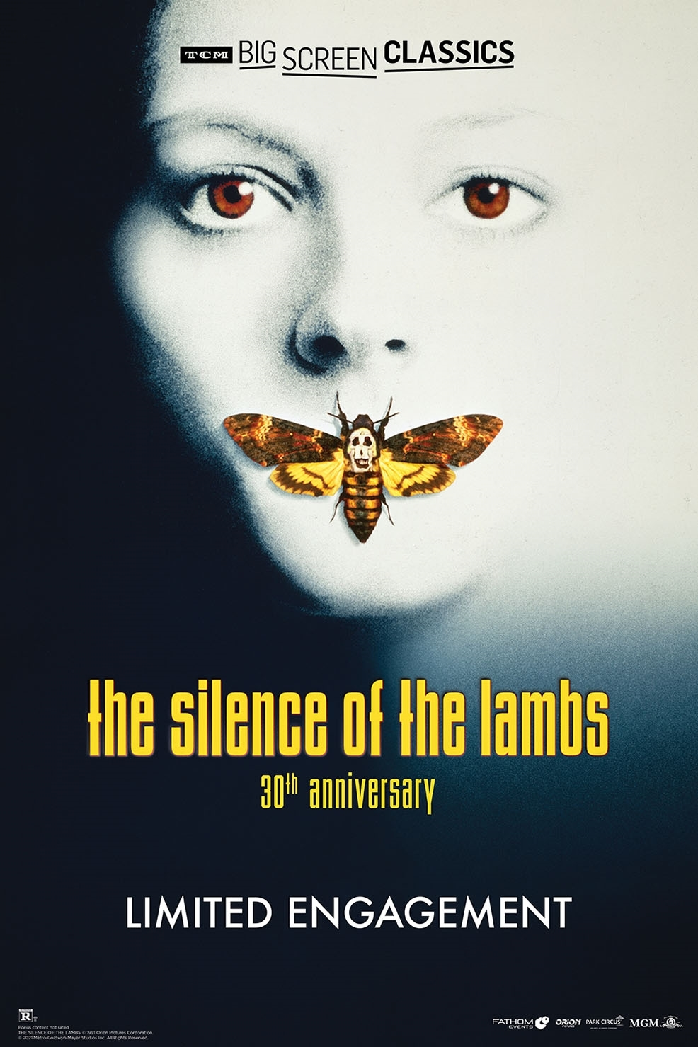 Poster of The Silence of the Lambs 30th Anniversary presented by TCM
