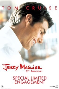 Poster of Jerry Maguire 25th Anniversary