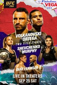 Poster of UFC 266: Volkanovski vs. Ortega