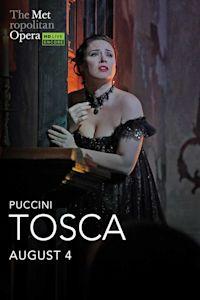 Poster of Met Summer Encore: Tosca