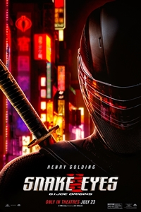 Snake Eyes: The IMAX 2D Experience Poster