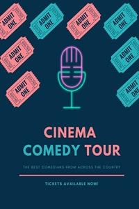 Poster of Cinema Comedy Tour 2021