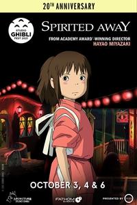 Spirited Away 20th Anniversary - Studio Ghibli Fes