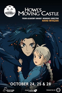 Poster of Howl's Moving Castle - Studio Ghibli Fest 2021