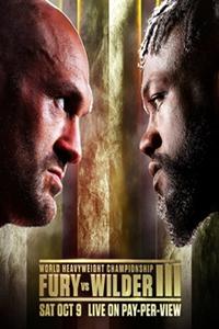 Poster for Tyson Fury vs. Deontay Wilder III