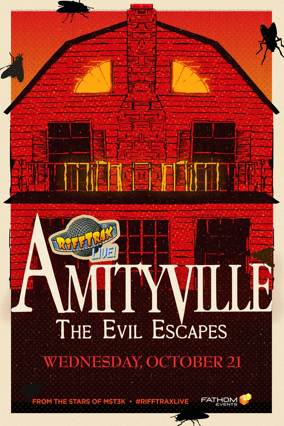 Poster of RiffTrax Live: Amityville 4: The Evil Escapes