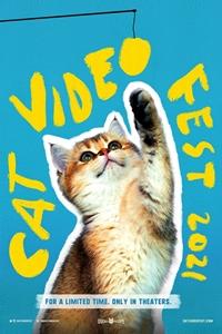 CatVideoFest 2021 Poster