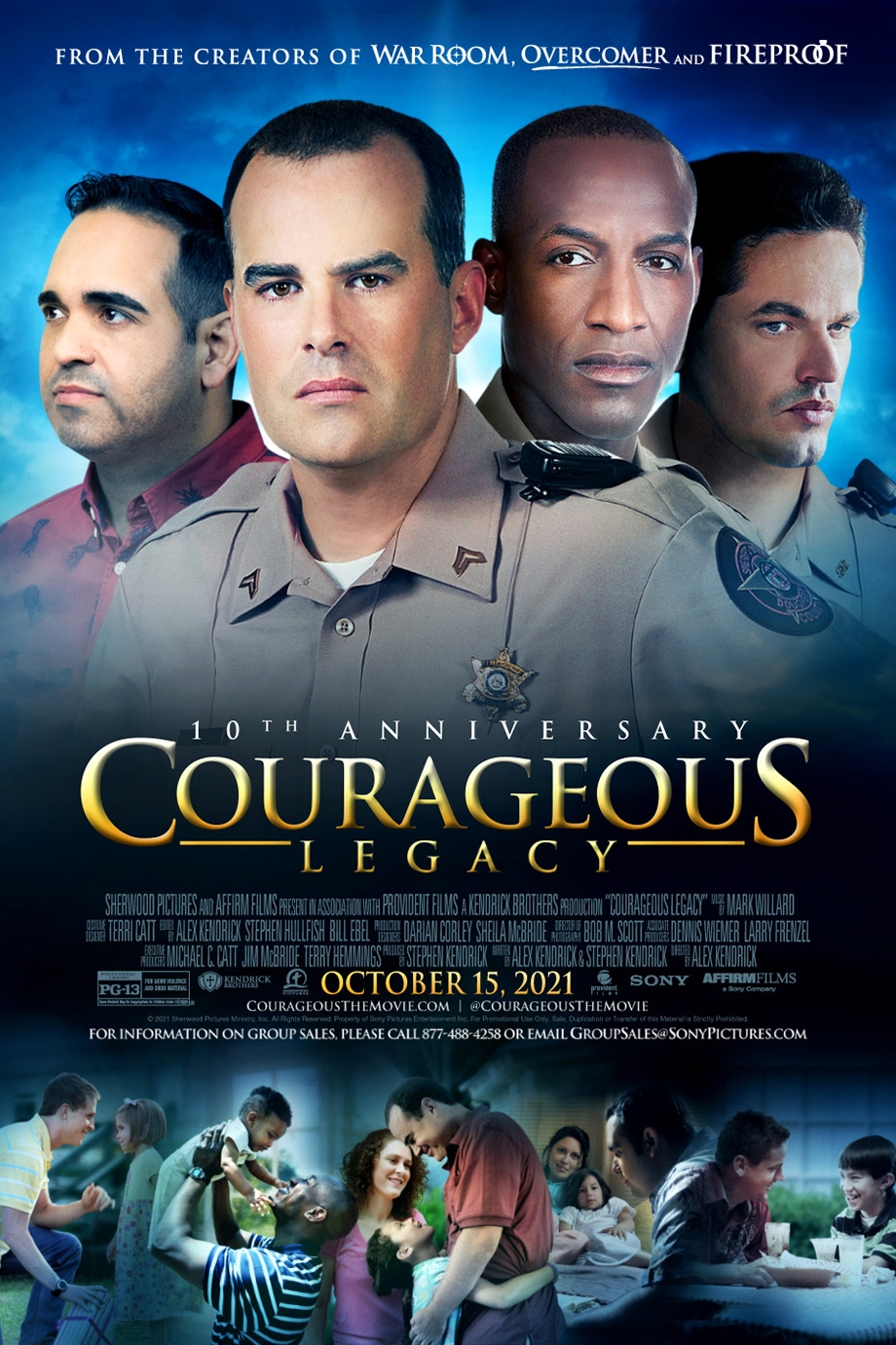 Poster of Courageous Legacy