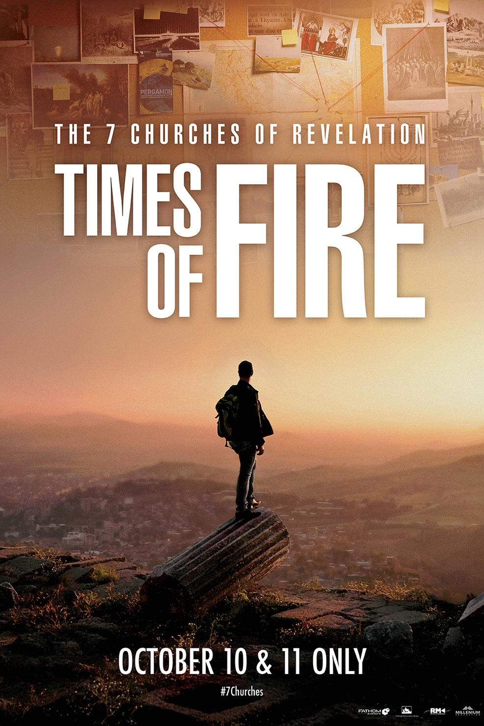 Poster of The 7 Churches of Revelation: Times of Fire