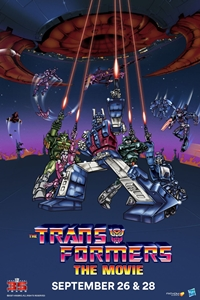 The Transformers: The Movie 35th Anniversary Poster