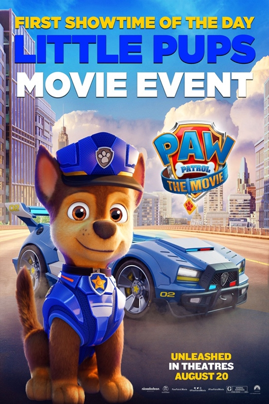 Poster of Paw Patrol: The Movie - Little Pups Event