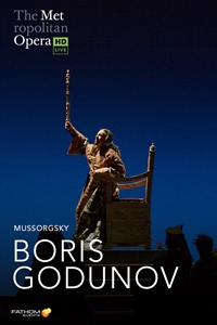 The Metropolitan Opera: Boris Godunov poster