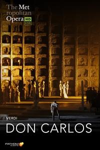 The Metropolitan Opera: Don Carlos poster