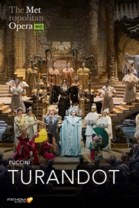 Poster for The Metropolitan Opera: Turandot