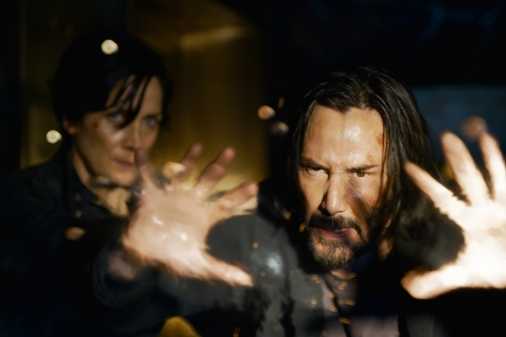 Background Still for The Matrix Resurrections