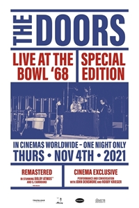 Poster for The Doors: Live At The Bowl '68 Special Edition