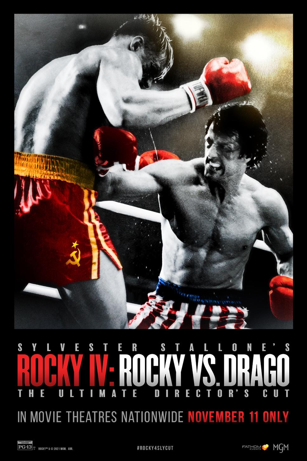 Poster of Rocky IV: Rocky Vs. Drago