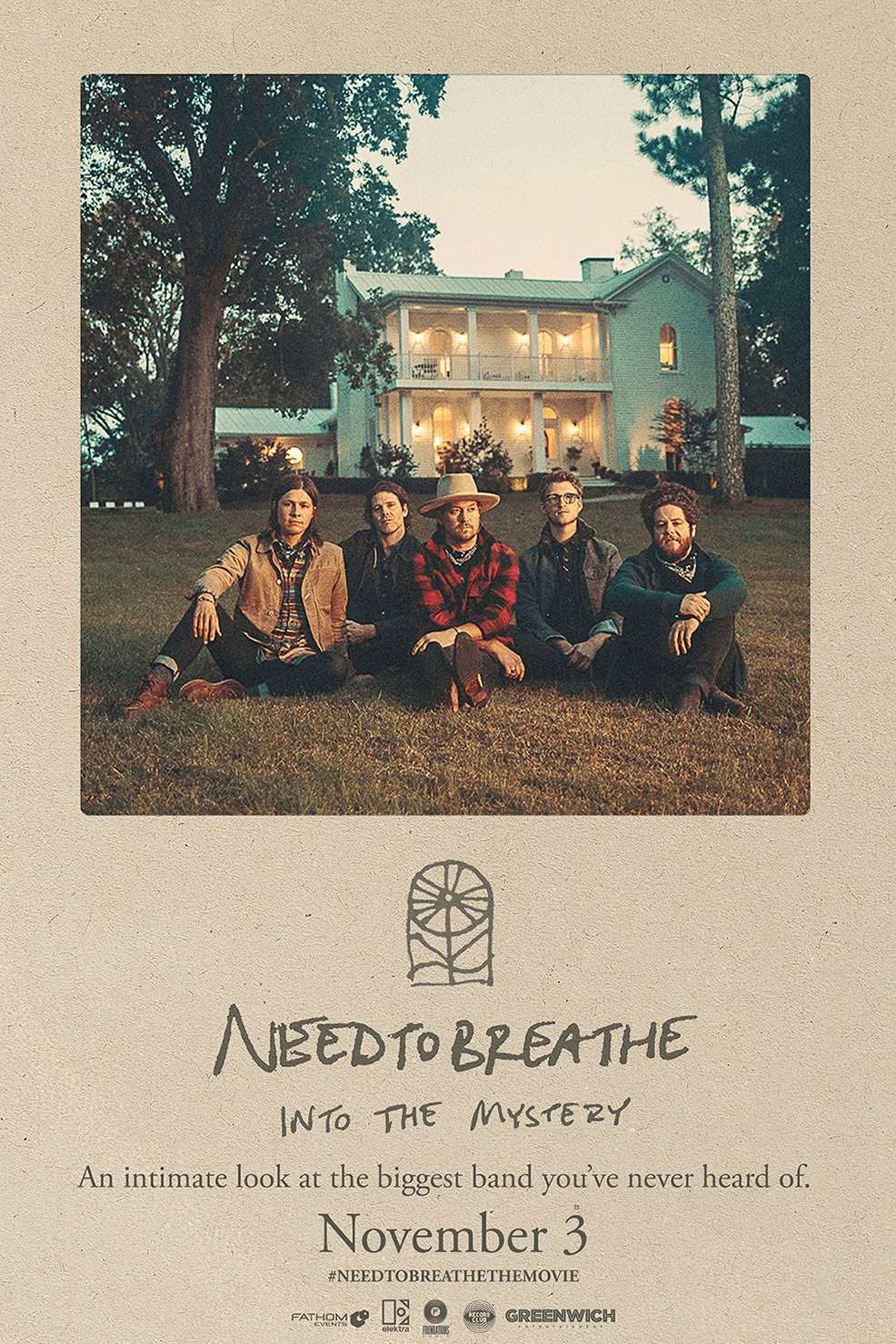 Poster of NEEDTOBREATHE: Into the Mystery