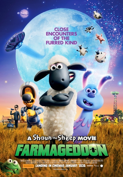 Poster of Shaun the Sheep Movie: Farmageddon