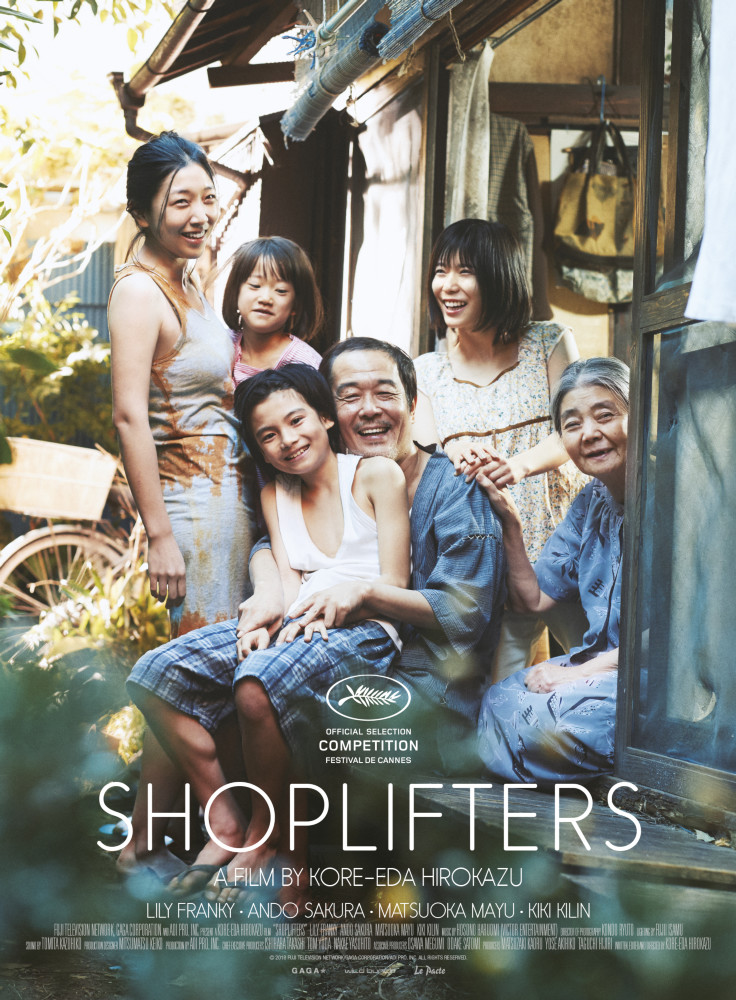 Poster of Shoplifters