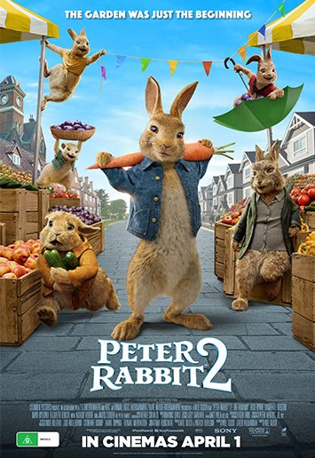 Poster of Peter Rabbit 2: The Runaway
