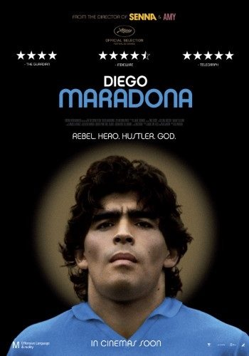 Poster of Diego Maradona