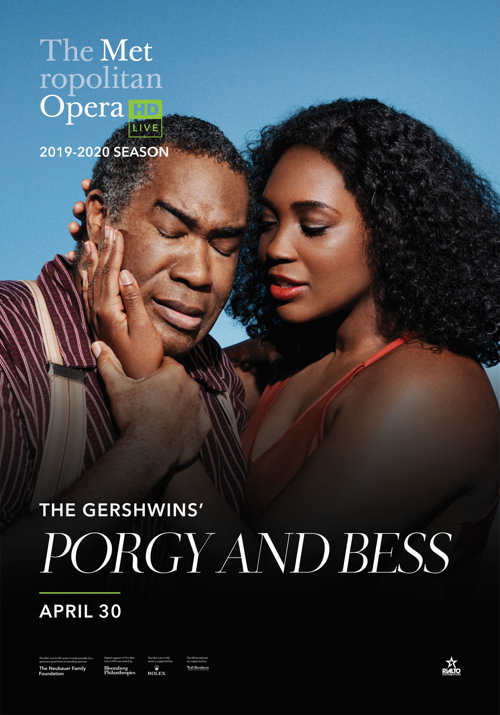 Poster of Metropolitan Opera: Porgy and Bess