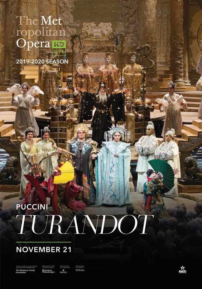 Poster of Metropolitan Opera: Turandot