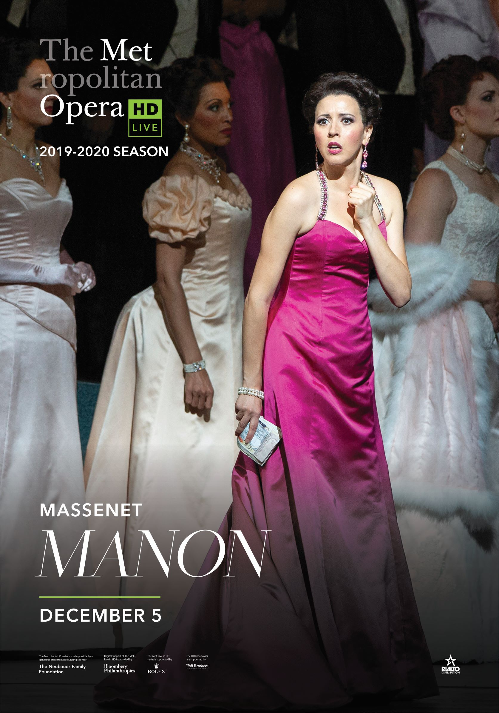 Poster of Metropolitan Opera: Manon
