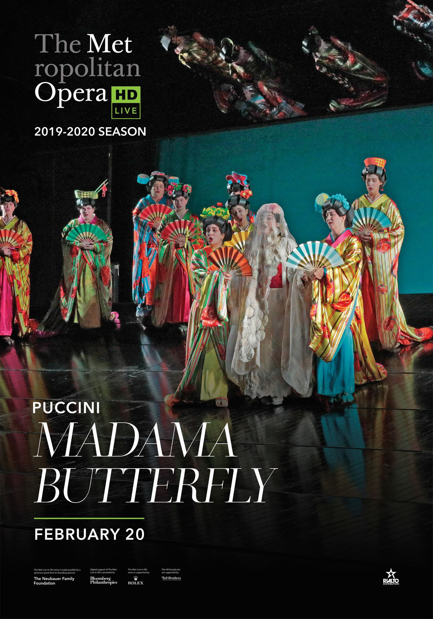 Poster of Metropolitan Opera: Madama Butterfly